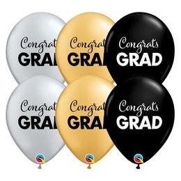 11 inch-es Gratulálunk - Simply Congrats Grad Asst. Lufi Ballagásra (25 db/csomag)