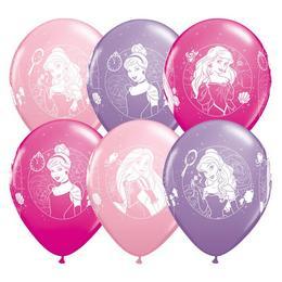 11 inch-es Disney Princess - Hercegnők Spec. Asst. Lufi (25 db/csomag)