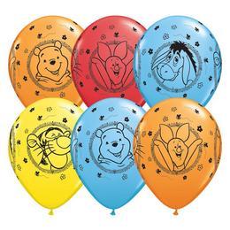11 inch-es Winnie The Pooh Characters - Micimackó Spec. Asst. Lufi (25 db/csomag)