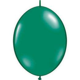 12 inch-es Emerald Green Quick Link (Fashion) Lufi (50 db/csomag)