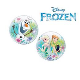 12 inch-es Jégvarázs - Disney Frozen Air Bubbles Lufi, 10 db-os