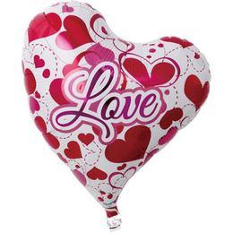 Ibrex 14 inch-es Love Hearts Sweet Szerelmes Szív Fólia Lufi (5 db/csomag)