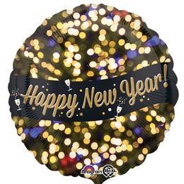 17 inch-es Happy New Year Celebration Szilveszteri Fólia Lufi