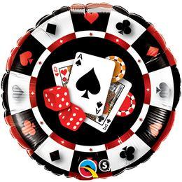 18 inch-es Casino $ Fólia Lufi