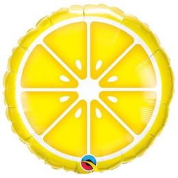 18 inch-es Citrom Szelet - Sliced Lemon Fólia Lufi