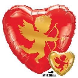 18 inch-es Cupido - Cupid Szív Fólia Lufi Valentin-napra