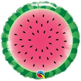 18 inch-es Görögdinnye Szelet - Sliced Watermelon Fólia Lufi