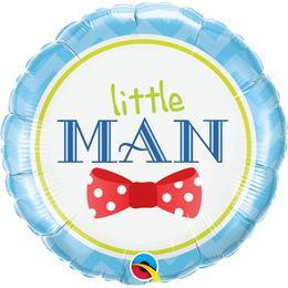 18 inch-es Little Man Bow-Tie Fólia Lufi