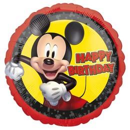 18 inch-es Mikiegér - Mickey Mouse Forever Szülinapi Fólia Lufi