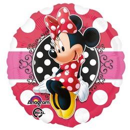 18 inch-es Minnie Egér - Minnie Mouse Portrait Fólia Lufi