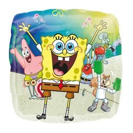 18 inch-es Spongyabob és Barátai - Spongebob Fólia Lufi