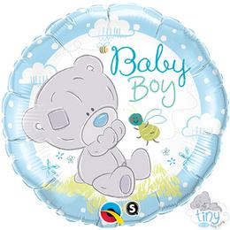 18 inch-es Tiny Tatty Teddy Baby Boy Fólia Lufi