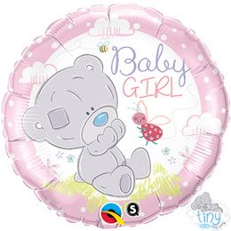 18 inch-es Tiny Tatty Teddy Baby Girl Fólia Lufi