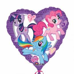 18 inch-es My Little Pony Szív Fólia Lufi