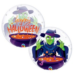 22 inch-es Boszi - Halloween Witch' Brew Bubble Lufi