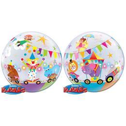 22 inch-es Circus Parade Bubbles Lufi