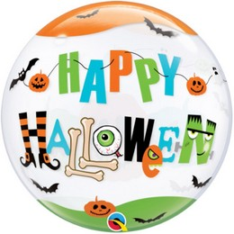 22 inch-es Halloween Fun Font Bubble Lufi Halloweenre