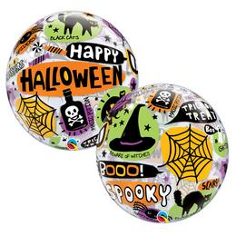 22 inch-es Halloween Messages & Icons Bubble Lufi
