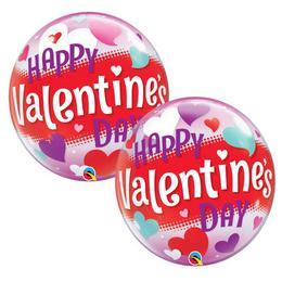 22 inch-es Valentine's Day Gold Script Szerelmes Bubble Lufi