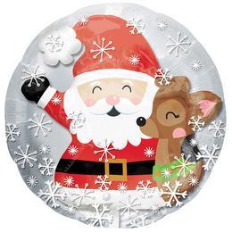 Mikulás, Karácsony Fólia Lufi