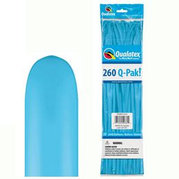 260Q Robins Egg Blue (Fashion) Q-Pak Party Modellező Lufi (50 db/csomag)