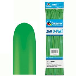 260Q Spring Green (Fashion) Q-Pak Party Modellező Lufi (50 db/csomag)
