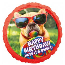 28 inch-es Avanti Sweet Birthday Szülinapi Super Shape Fólia Lufi