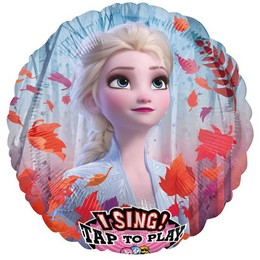 28 inch-es Jégvarázs 2 - Frozen 2 Éneklő Fólia Lufi
