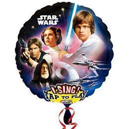 28 inch-es Star Wars Éneklő Fólia Lufi