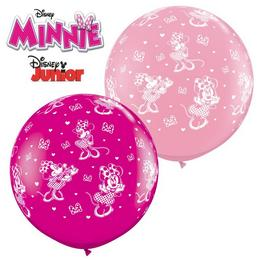 3 feet-es Disney Minnie Mouse-a-rnd Lufi (2 db/csomag)