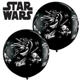 3 feet-es Disney Star Wars Darth Vader and Yoda Lufi (2 db/csomag)