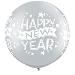 30 inch-es New Year Confetti Dots Wrap Szilveszteri Lufi (2 db/csomag)