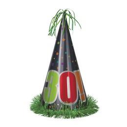 30-as Birthday Cheer Szülinapi Parti Nagy Papír Csákó
