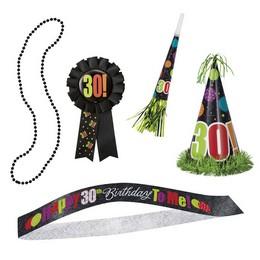 30-as Birthday Cheer Szülinapi Parti Szett - 5 db-os