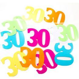 30-as XL Méretű Számos Szülinapi Konfetti