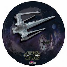 31 inch-es Star Wars The Force Awakens The Dark Side Fólia Lufi - 3D