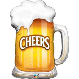 35 inch-es Cheers! Beer Mug Fólia Lufi