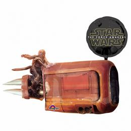 35 inch-es Star Wars The Force Awakens Rey's Speeder Fólia Lufi