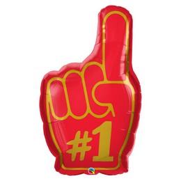 37 inch-es Te Vagy az Első - #1 Finger Fólia Lufi