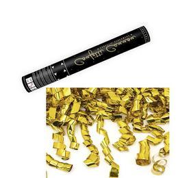 40 cm-es, Arany Szalagokat Kilövő Konfetti Ágyú