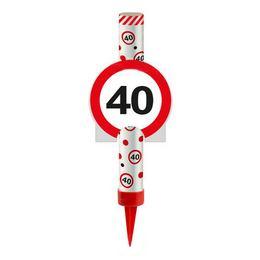 40-es Sebességkorlátozó Tortatüzijáték