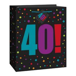 40-es Birthday Cheer Ajándéktasak Szülinapra
