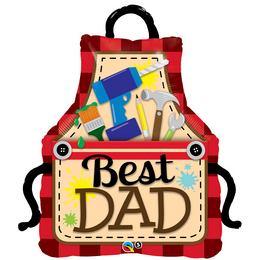 41 inch-es Best Dad Apák Napi Fólia Lufi
