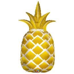 44 inch-es Golden Pineapple Fólia Lufi