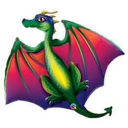 45 inch-es Mítikus Sárkány - Mythical Dragon Fólia Lufi