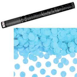 60 cm-es, Kék Kerek Konfettiket Kilövő Konfetti Ágyú