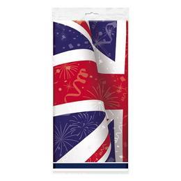 Angol Zászló Mintás Parti Asztalterítő - 137 cm x 213 cm