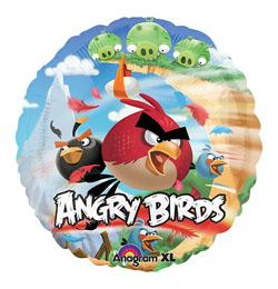 18 inch-es Angry Birds Fólia Lufi