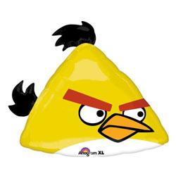 Angry Birds - Sárga Madár Super Shape Fólia Lufi