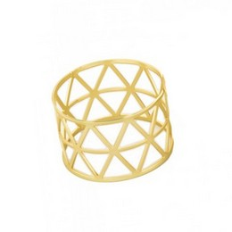 Arany Szalvéta Gyűrű, 5 cm-es